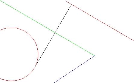 接線かつ垂線の作図