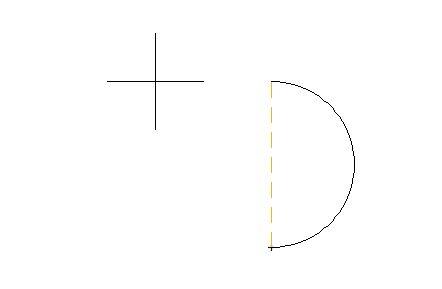 ポリラインの円弧作成